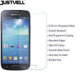 小型Samsung S4のための携帯電話の緩和されたガラススクリーンの保護装置