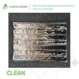 Panneau d'isolation de vide de fibre de verre de papier d'aluminium pour le projet de construction