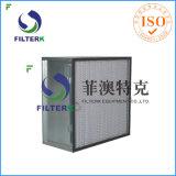 Filtro industrial del rectángulo del compresor de aire del filtro del aire comprimido de Filtetrk