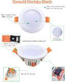 Горячее потолочное освещение Downlight AC85-265V 9W SMD СИД
