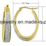 Joyería del pendiente del acero inoxidable del espárrago del oído de la joyería de la carrocería de la manera (ERS6939)