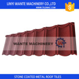 Sand Coated Metal Roof Tiles 1/8 Weight is of Ordinary Tiles
