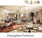 コマーシャル4の星のホテルの家具(HD002)のための木の寝室セット