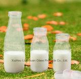 200ml 1000 Food-Gradeガラスビン、飲料のびん、天然水のびん、ジュースのびん、ミルクびん