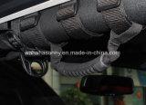 Черная ткань для двери Wrangler 4 виллиса ручка передних/задего самосхвата