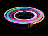 RGB impermeable persiguiendo la luz de neón de la flexión del LED con IP65 para la decoración al aire libre