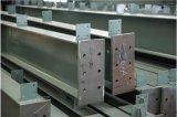 기중기를 가진 Prefabricated 강철 구조물 건물