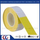 """黄色い6 """"/6 """"白い反射安全注意の警告のステッカーロールスロイス(C3500-B (D))"""