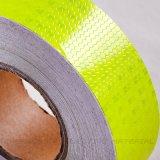 Fita adesiva do cuidado do refletor do favo de mel amarelo de néon do PVC (C3500-FY)