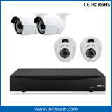 Sistema de seguridad 8CH 3MP P2p DVR del CCTV