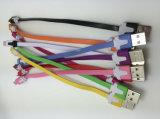 Cabo do carregador do USB da iluminação 8pin do Short 20cm para o iPhone 7/7+6/6+/5s/5