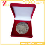 Logo personnalisé Pièce double haute qualité avec cadeau souvenir de boîte (YB-HD-140)