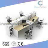 Poste de travail en bois de bureau de meubles modernes