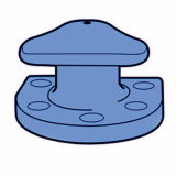Colonna di ormeggio marina standard di attracco di BACCANO/doppia colonna di ormeggio/colonna di ormeggio del bacino