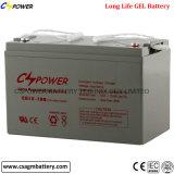 Batterie 12V120ah de gel avec la garantie 3years pour des projets solaires