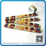 Wristband da jóia do silicone do traje para o presente