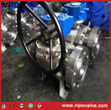 Api 6D Forged Steel Trunnion Mounted Flanged Ball Valve