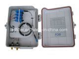 Rectángulo de distribución óptico portuario de 16 FTTH con el LC, Sc, St, adaptador de FC