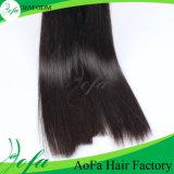A venda quente e forma a 100% o cabelo humano Weave do cabelo reto