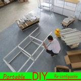 Plinths modulares portáteis do indicador da exposição da feira profissional do costume DIY