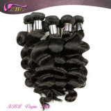 Инец 100% ранга 7A Natural Color Loose Wave Virgin Hair