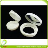De witte Compacte Kosmetische Verpakking van de Kleur