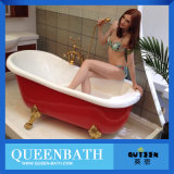 Bañera libre del masaje del bebé, tina de baño de acrílico del bebé Jr-B810