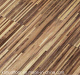 Suelo de madera dirigido elegante ambiental