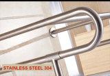 Barre d'encavateur de lavabo de l'acier inoxydable 304