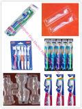 Máquina de empacotamento da bolha do Toothbrush descartável de alta velocidade automático
