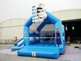 Aufblasbares Commercial federnd Castles Frozen Bounce House und Inflatable Jumping Bouncer