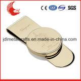 Clip argenté de vente chaud d'argent en métal de blanc d'en cuivre de l'or 2016