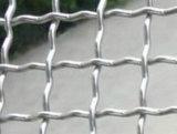 ひだを付けられた金網