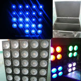 DMX 25X10W RGB Beam Wash Stage Lighting Matrix LED