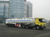 ASME GB Standardの化学薬品LNG Lox Fuel Tanker Semi Trailer