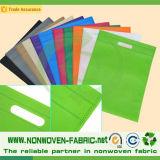 Ткань PP ткани тканья TNT Non сплетенная для хозяйственных сумок