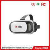 Googleの第2ボール紙Headmountが付いている3D Vrガラス