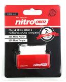 De nitro OBD2 het Stemmen van de Spaander Beste Macht van de Brandstof van de Doos voor het Diesel Rood van Auto's