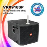 Vrx918sp 18 pouces - haut-parleurs bas actifs de subwoofer de cadre de haut-parleur de haute énergie