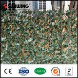 Напольная дешевая искусственная вертикальная стена зеленого цвета сада с пожаром упорным