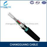 Cable multi trenzado Arieal de acero de Opic de la fibra del precio de fábrica del conducto de base del cable óptico acorazado de la fibra de la cinta GYTA53