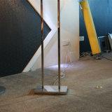 Lampada di pavimento diritta d'ottone antica di Decoratove dell'hotel moderno
