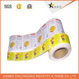 Etiqueta autoadesiva impressa do PVC do papel do serviço de impressão da etiqueta do frasco
