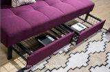 Кровать софы 2 мест с ящиком хранение/2 Underneath