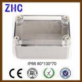 Allegato resistente all'intemperie elettronico del coperchio grigio di plastica dell'ABS di alta qualità di 80*130*70 IP66