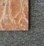 磨かれた自然なオレンジ赤のタイルおよび大理石