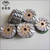 훅을%s 가진 다이아몬드 금속 닦는 패드 & 콘크리트를 위한 루프백
