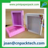Роскошная твердая косметическая бумажная коробка