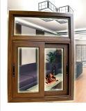 Hölzernes Korn-Aluminiumwärmeisolierung-gleitendes Fenster