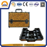 Black Professional Make up Cosmetic Beauty Train Case (HB-1201)